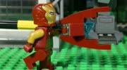 复仇者联盟3:无限战争,钢铁侠VS灭霸电影和乐高动画对比!