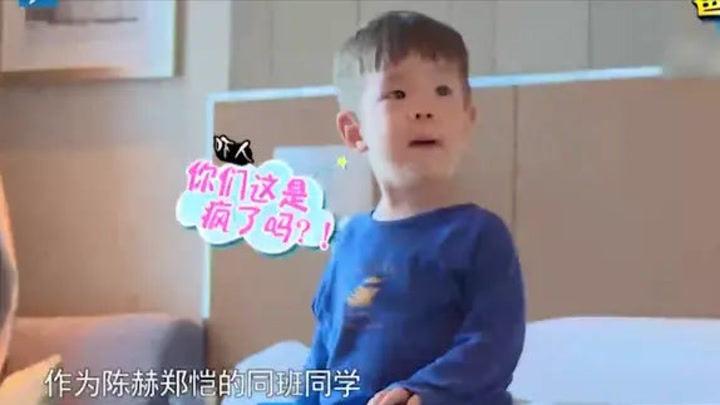 綜藝:杜江和霍思燕撕名牌,嗯哼一臉蒙圈,你倆干啥呢?