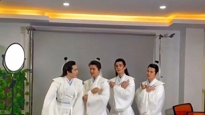 【通天書院】通天四公子定妝花絮