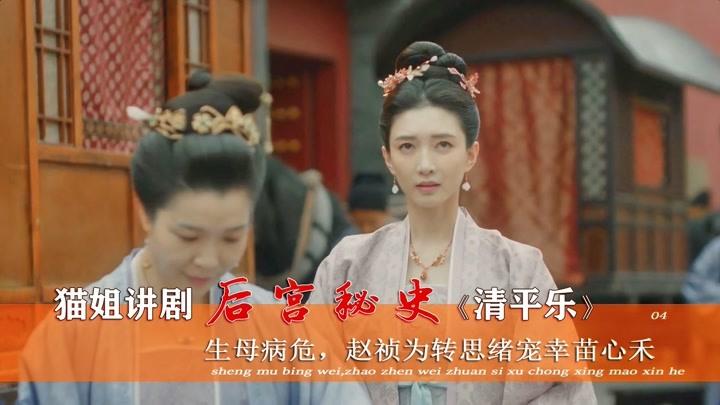 清平樂04:曹皇后犯花癡,目不轉睛盯著趙禎,誰料皇帝卻寵幸心禾