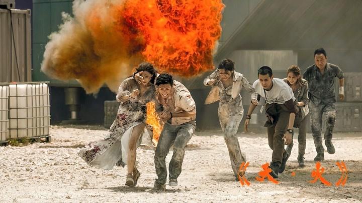 《天·火》明明是災難片,卻隔著屏幕吃了一波周杰倫和昆凌的狗糧