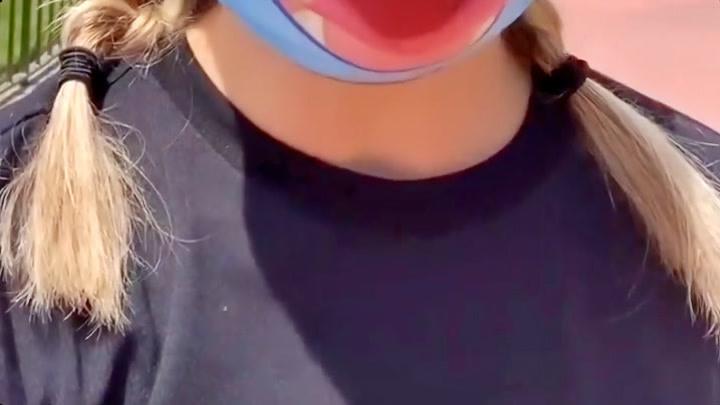 Ashley Eckstein在迪士尼的第二天(ins轉載)