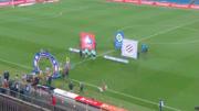 华体会体育赞助里尔法甲联赛第十七轮比赛精彩回顾 里尔3-2蒙彼利埃 里斯蒂斯禁区内犯规送点