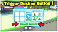 How to Trigger Someone's Decline Button in Adopt Me! Trade Menu Hacks